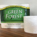 Green Forest toilet paper 12 roll pack